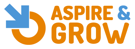 Aspire & Grow logo